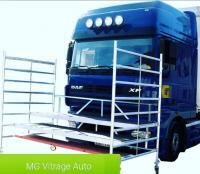 echafaudage pour le remplacement des pare-brise de poids-lourds, camion, porter,...