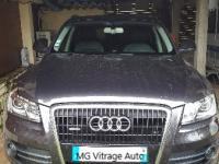 Audi Q5. pare-brise.