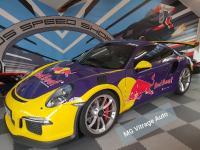 Porsche GT3RS. pare-brise.